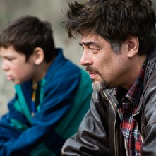 A Perfect Day: Benicio Del Toro in un'immagine del film
