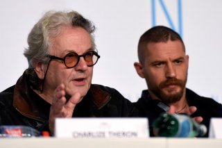 Mad Max: Fury Road - Tom Hardy e George Miller in conferenza stampa a Cannes