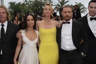Cannes 2015: Zoe Kravitz, Charlize Theron, Tom Hardy e Nicholas Hoult alla première di Mad Max: Fury Road