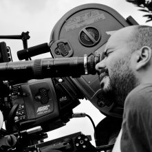 Il regista Ciro Guerra sul set del suo film El abrazo de la serpiente