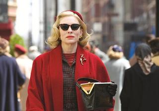 Carol: Cate Blanchett in una scena del film