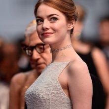 Cannes 2015 - Emma Stone sul red carpet del Festival