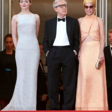 Cannes 2015 - Emma Stone, Woody Allen e Parker Posey alla première di Irrational Man