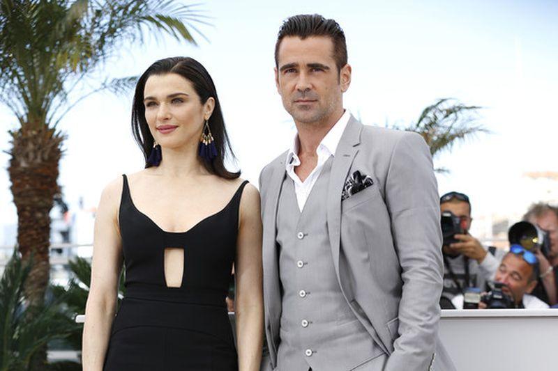 The Lobster: Colin Farrell e Rachel Weisz a Cannes