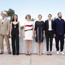 The Lobster: il regista Giorgos Lanthimos e il cast al completo a Cannes