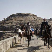 Les Cowboys: una scena collettiva del film di Thomas Bidegain