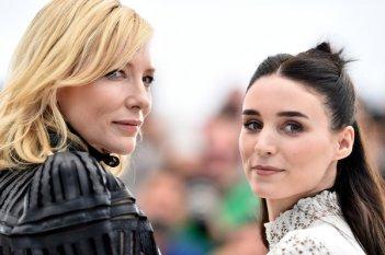Cannes 2015 - Cate Blanchett e Rooney Mara durante il photocall di Carol