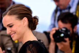Cannes 2015 - l'attrice e regista Natalie Portman al photocall A Tale of Love and Darkness