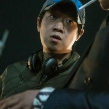 Coin Locker Girl: il regista del film Han Jun-hee sul set