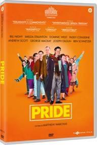 la cover del DVD di Pride