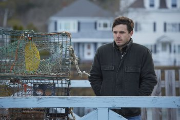 Manchester-by-the-Sea: Casey Affleck in una scena del film