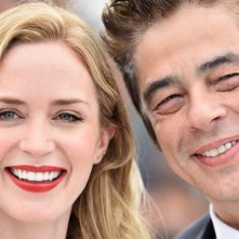 Sicario: Emily Blunt insieme a Benicio del Toro a Cannes