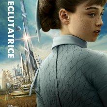 Tomorrowland - Il mondo di domani: il character poster italiano di Athena (Raffey Cassidy)