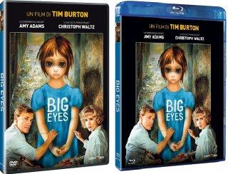 Le cover homevideo di Big Eyes