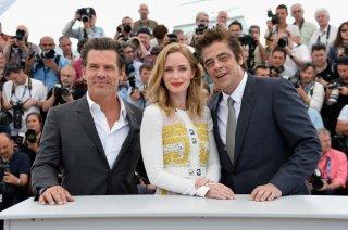 Sicario: Emily Blunt, Benicio del Toro e Josh Brolin a Cannes