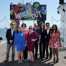 Inside Out: Amy Poehler, Mindy Kaling, Pierre Niney, Charlotte Le Bon e il resto del cast vocale americano e francese a Cannes