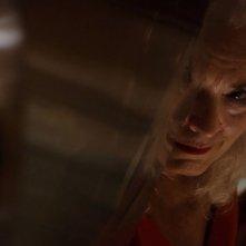 Krisha: Krisha Fairchild in un'inquietante scena del film