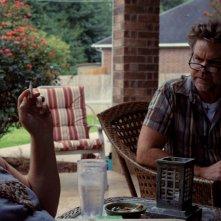 Krisha: Krisha Fairchild con Bill Wise in una scena del film