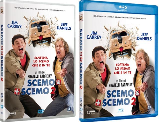 Le cover homevideo di Scemo & + Scemo 2