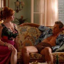 Mad Men: Christina Hendricks in una scena della puntata intitolata Person to Person