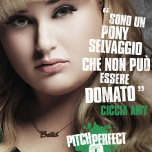 Pitch Perfect 2: il character poster italiano di Ciccia Amy (Rebel Wilson)