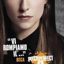 Pitch Perfect 2: il character poster italiano di Beca (Anna Kendrick)