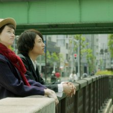 Il fascino indiscreto dell'amore: Pauline Etienne e Taichi Inoue in un momento del film romantico