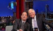 Tom Hanks e il souvenir da Firenze per Letterman: un selfie stick!