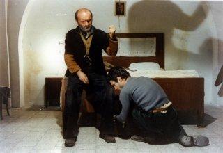 Padre Padrone: Omero Antonutti e Saverio Marconi in una scena