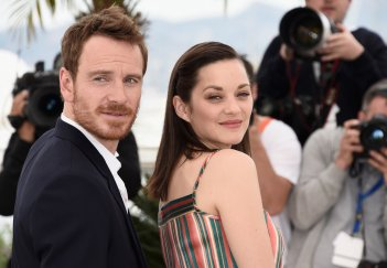 Macbeth a Cannes 2015: Michael Fassbender  con Marion Cotillard