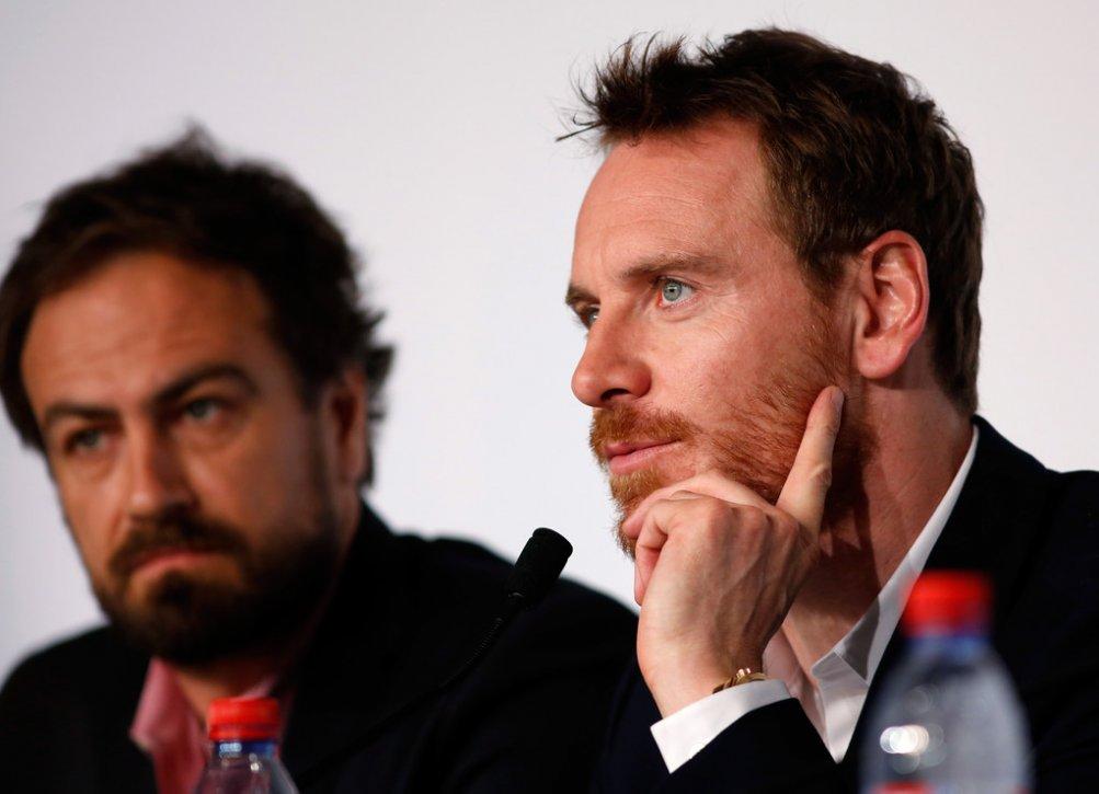 Macbeth a Cannes 2015: Michael Fassbender durante l'incontro stampa