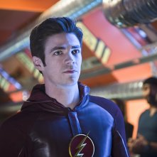 The Flash: il protagonista Grant Gustin nella puntata Fast Enough