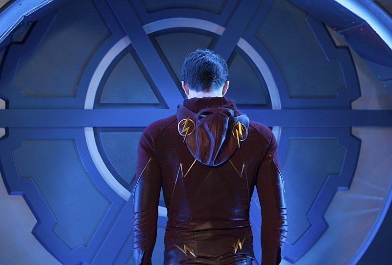 The Flash: Grant Gustin interpreta Barry Allen nell'episodio Fast Enough