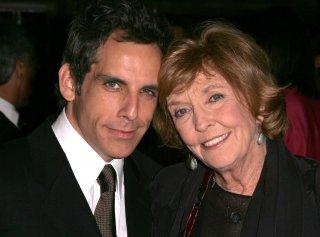 Anne Meara insieme al figlio Ben Stiller