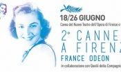 Cannes a Firenze dal 18 al 26 giugno