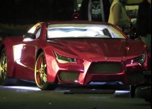 Suicide Squa: ecco l'auto del Joker