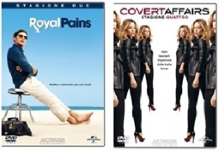 Le cover homevideo di Royal Pains e Covert Affair