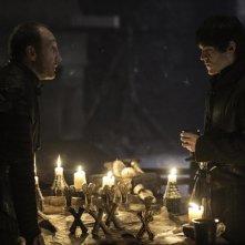 Il trono di spade: Michael McElhatton e Iwan Rheon nell'episodio intitolato Uccidi il ragazzo