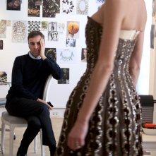 Dior and I: Raf Simons, nuovo direttore creativo della maison Dior, in una scena del film