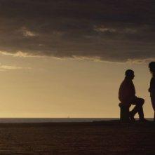 Una storia sbagliata: Francesco Scianna con Isabella Ragonese in una romantica scena del film