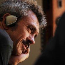 Una storia sbagliata: il regista Gianluca Maria Tavarelli in una foto dal set
