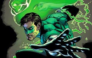 Green Lantern: un'immagine del fumetto