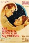 Locandina di I miracoli non si ripetono