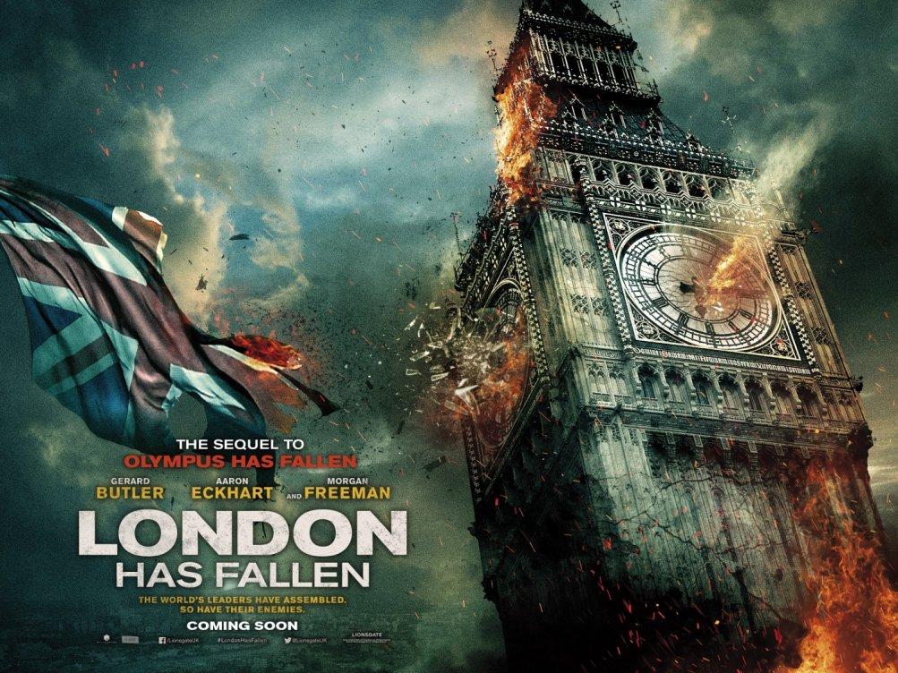 London Has Fallen: il quad poster dedicato al Big Ben