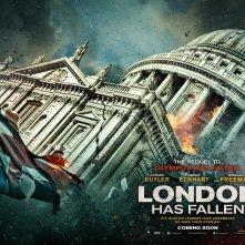 London Has Fallen: il quad poster dedicato a St. Paul