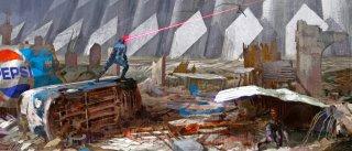 X-Men: Apocalypse - Cyclope e Tempesta si sfidano in un concept art