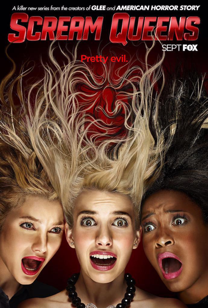 Scream Queens: un pittoresco poster per la prima stagione