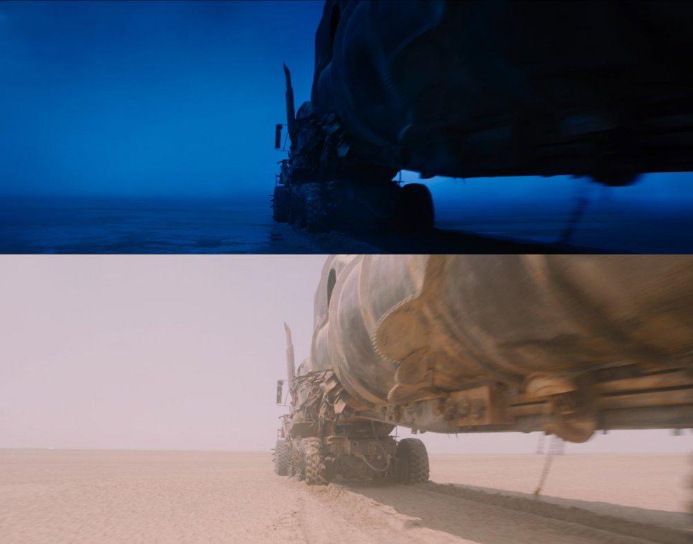 Mad Max: Fury Road: il lavoro compiuto sulle immagini girate in Namibia e in Australia