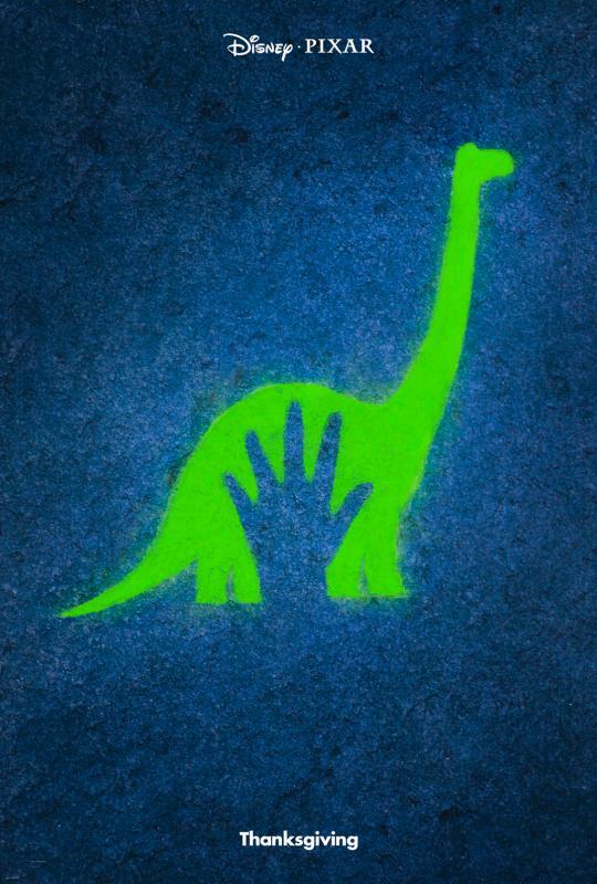 The Good Dinosaur: locandina promozionale del film