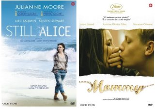 Le cover DVD di Still Alice e Mommy